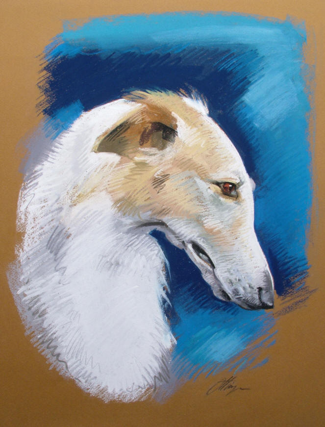 Borzoi Hand Crafted Coat Rack - k9gifts.com